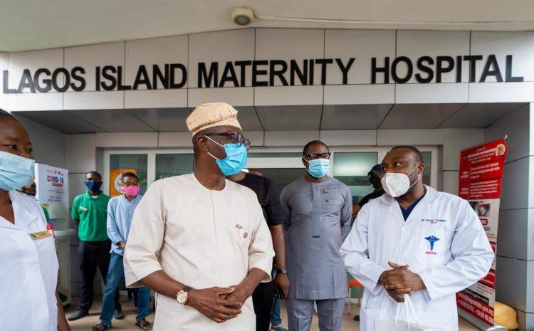 suprise visit By Governor Babajide Sanwo Olu